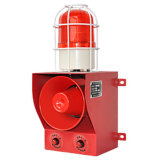 Сигнала тревоги звука голоса AC110V сигнал тревоги громкого звуковой предупреждающий