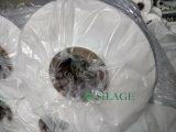 Película do envoltório da ensilagem do branco 750mm do uso de Canadá