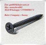 Parafuso do Drywall/parafuso de batida do auto/parafuso preto 25*3.5mm da placa de gipsita