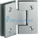 ステンレス鋼のコネクターのハードウェアの浴室のガラスシャワーのドアヒンジSkh010