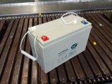 12V100ah UPS 사용 젤 건전지 유지 보수가 필요 없는 태양 전지