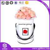 Contenitore impaccante su ordinazione di lusso di fiore del regalo della Rosa della carta da stampa di marchio