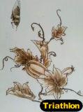 図か景色または花または静物画または動物1の鉄の絵画