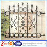 美しいEconomical Practical Residential Wrought Iron Fence (dhfence-8)