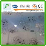 6mmの酸の装飾的なガラスまたは汚れガラスまたはよく装飾的なガラスまたは酸装飾的なガラスまたはStain6mmの酸の装飾的なガラスまたは汚れガラスかよい装飾的