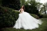 Robe de mariage élégante de boule de Tulle (WDQH014)