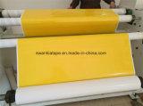 Stickerei-Band/gelbes Stickerei-Doppeltes versahen Band/Klebstreifen mit Seiten
