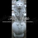 Marmeren Dierlijke Leeuw ma-222 van Metrix Carrara van het Graniet van de Steen Dierlijke Dierlijke