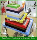 Revestimento de parede em madeira / MDF para decoração em casa Molduras para fotos de 6/7-polegadas