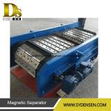 Separador magnético de eixo permanente de resíduos sólidos