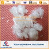 Monofilament van het polypropyleen pp Micro- Concrete het Versterken Vezel