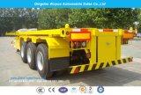 3 as 12.5m Aanhangwagen van de Vrachtwagen van de Container van het Skelet de Semi met Landingsgestel Jost