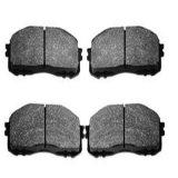 Garnitures de frein automatiques du numéro d'article D1536 de véhicule pour OEM 7 de FIAT 736 209 3 garnitures de frein avant