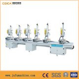 Perfis de alumínio Multi-Head Combination Drilling Machine