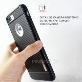 プラスSamsung S7のiPhone 7/6のための柔らかいTPUの電話箱