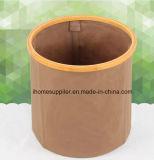 Spinnender Korb-schmutziger Kleidung-Bambuskorb der Wäscherei-B9008
