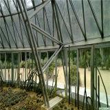 Barraca luxuosa da abóbada Geodesic com tela desobstruída do PVC e frame das tubulações de aço