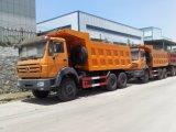 Caminhão de Tipper da descarga de Beiben 30ton 6X4 do Camion de Congo