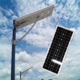 Heißes Verkaufs-Solarprodukt-integriertes Solarstraßenlaternemit Bescheinigung IP65