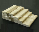 Divaricatore di linguetta a gettare medico di legno di betulla/divaricatore di linguetta di legno