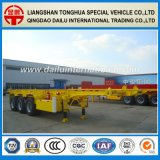 3axle 30FT Container High Tensile Steel Skeleton Semi Trailer