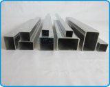 Petites pipes carrées soudées d'acier inoxydable