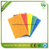 Almofada de limpeza de nylon abrasiva da limpeza/fibra de lustro