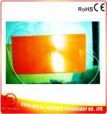 calefator da borracha de silicone de 12V 200*400*1.5mm para a impressora 3D