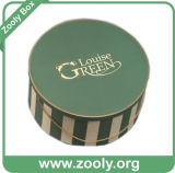 Круглая коробка шлема бумаги картона/напечатанная декоративная коробка подарка венчания