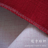 Linen imitato Sofa Fabric con Compound Backing