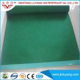 Мембрана PVC одиночного Ply делая водостотьким для плоской крыши