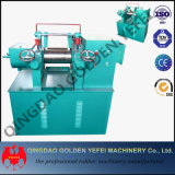 El caucho de China abre el molino de mezcla de dos rodillos con el mezclador común