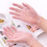 HDPE materielle Wegwerfhandschuhe, medizinischer Handschuh, Plastik-HDPE Handschuhe
