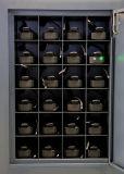 Estación de acoplamiento Senken para cámaras de video inalámbricas de la policía 24 puertos con gestión