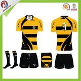 Camisola Sublimated uniforme Sublimated feito-à-medida do rugby do rugby da melhor qualidade