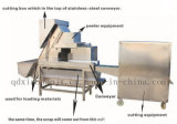 Automatische Zwiebelpeeler-Zwiebelen-Haut, die Zwiebelen-Schalen-Maschine entfernt