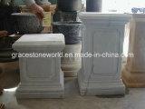 Base di pietra intagliata, basamento di marmo naturale (GS-P-034)