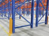 Défilement ligne par ligne lourd en acier de palette d'entrepôt en métal réglable industriel de mémoire
