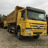 HOWO 덤프 트럭 팁 주는 사람 쓰레기꾼 트럭
