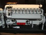 alto conjunto de generador en contenedor integrado de la central eléctrica del biogás 600kw