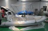 Opblaasbare Yacht (4,8 m, stijve romp)