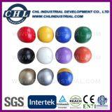 Шарик мягкой кожи PVC 6.3cm жонглируя заполненный с пластичными фасолями