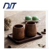 Еды логоса фабрики кружка чая сразу изготовленный на заказ безопасная деревянная
