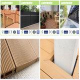 WPC Decking, material de construção de plástico em madeira
