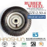 Hand-LKW-Reifen-Laufkatze-Reifen-pneumatisches Eber-Rad Tire2.50-4