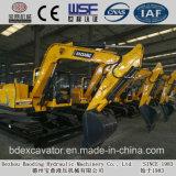 Bd80販売のための小さく黄色い(0.4m3/7.5T)クローラー掘削機