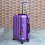アクセサリの卸し売りカスタマイズされた安いジッパーのABSトロリー荷物を着色しなさい