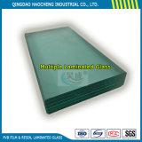 Толщиной стекло 6.38mm ясное прокатанное с хорошим сырцовым стеклом поплавка и прослойком PVB