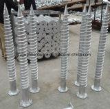 Hexagonal Hot DIP Revestimento galvanizado Painel solar Parafuso à terra