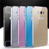Contraportada de la PC de parachoques del metal para la galaxia J7/J5/J3 de Samsung